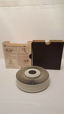 Vintage Sawyer Rotary Carousel Projector 100 Slide Tray, have 30, buy any amt
