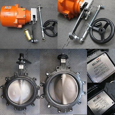 Brand New Belimo F7350HD+SY6-110 3-way Mixing/Diverting Valve Set