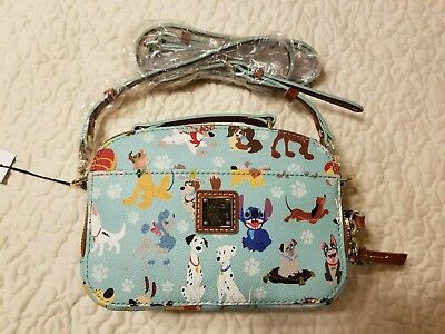 Sold out 2017 Dooney & Bourke disney dogs ambler crossbody bag purse