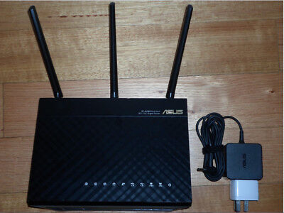 ASUS RT-AC68R Dual-Band 5GHz & 2.4GHz Wireless Wi-Fi AC1900 Gigabit Router - MEL