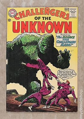 Challengers of the Unknown (DC 1st Series) #38 1964 VG 4.0