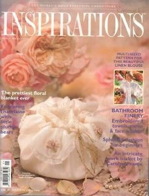 Inspirations 21 Country Bumpkin Embroider Chatelaine Multi-size Sewing Patterns
