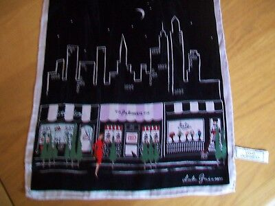Lulu Guinness. Quirky & Unusual Shopping Design Vintage Silk Scarf