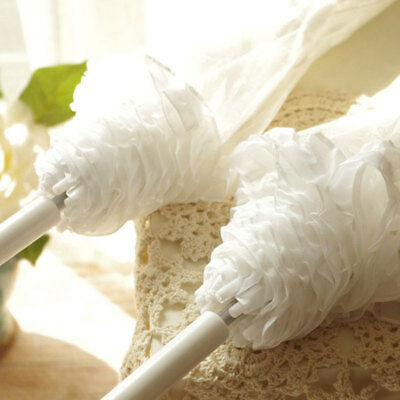 Lace Umbrella Transparent 23 Inch Dome Frilly Wedding Decorations Parasols
