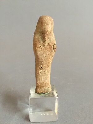 Ancient Egypt Late period Faience Ushabti 712-332 BC