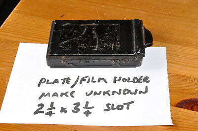 Small Cut Film / Plate / Film Pack Holder -  Battered but looks usable