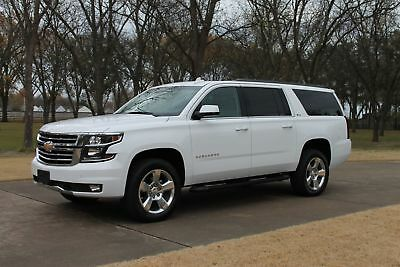 """2017 Chevrolet Suburban 4WD Z71 One Owner Perfect Carfax Nav Heated Leather 2 TV's 20"""" Wheels MSRP $67540"""
