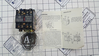 AC Relay NM Latch Type 700-NM200A1  Allen Bradley Bulletin 700  Series D 120v