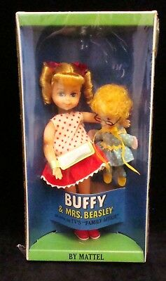 "BUFFY & MRS BEASLEY DOLL Mattel 1967 NRFB FAMILY AFFAIR 6"" Tutti #3577"