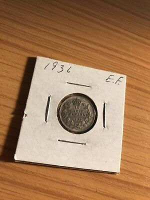 1936 10C Canada 10 Cents