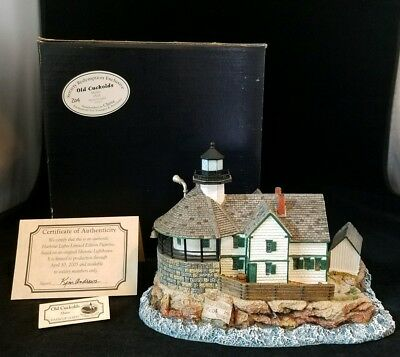 Harbour Lights, Old Cuckolds Maine #545 Society Redemption Exclusive Hand #204