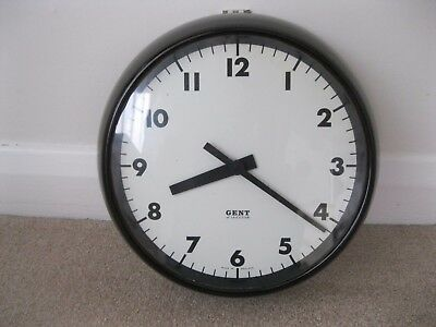 Gent of Leicester Bakerlite wall clock
