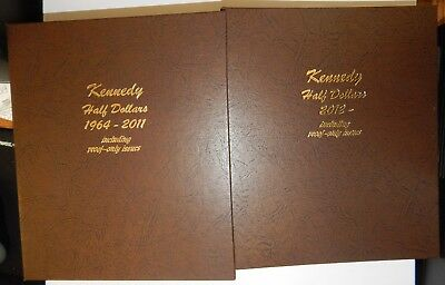 1964-2017 Complete Kennedy Half Dollar Set BU and Proof (including silver)