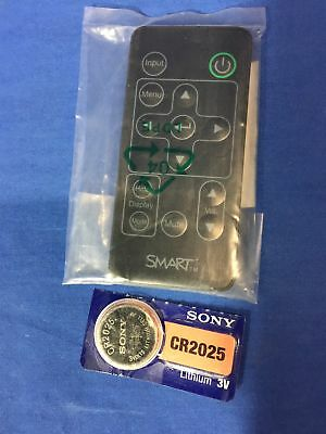 Smart Technologies Smart board Projector Remote 03-00131-20 w/battery FREE SHIP