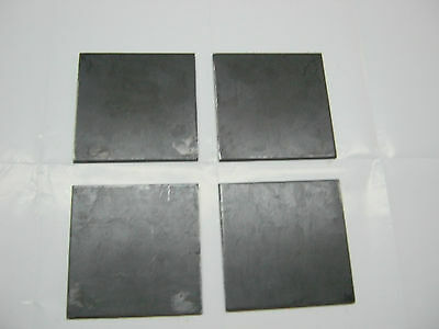 "1/8"" 0.125"" STEEL PLATES 1/8"" x 5"" x 5""  STEEL GRADE A36 4 pieces set"