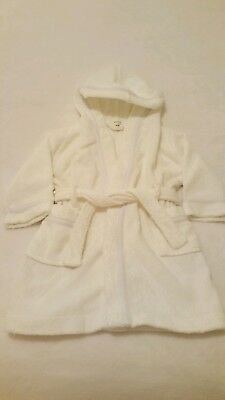 John Lewis towelling robe age 12-18 months