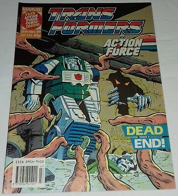 Transformers UK Comic Issue 245