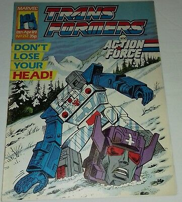 Transformers UK Comic Issue 212