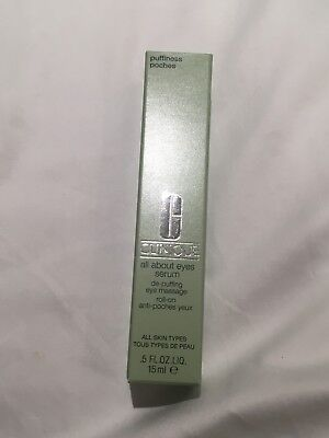 Clinique All About Eyes Serum Removes Dark Circles And Puffy Eyes 15ml BNIB