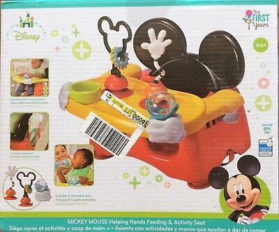 The First Years Disney Baby Helping Hands Feeding and Activity Seat Mickey Mouse