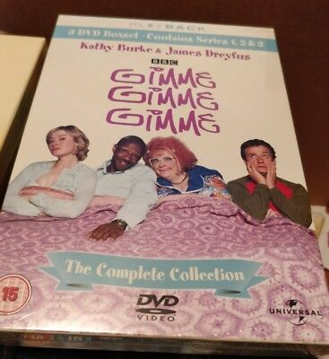 Gimme Gimme Gimme: The Complete Series 1 2 & 3 - DVD NEW & SEALED