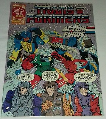 Transformers UK Comic Issue 198