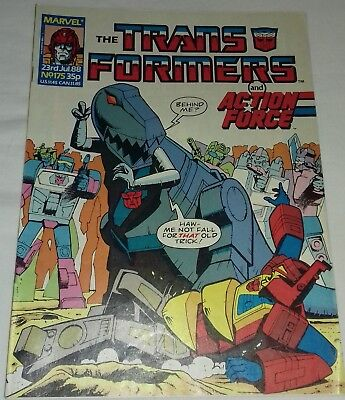 Transformers UK Comic Issue 175