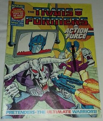 Transformers UK Comic Issue 163