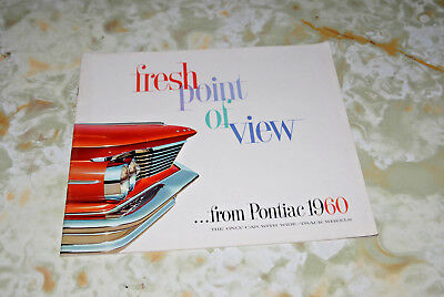 Sales Brochure Of A 1960 Pontiac, Printed In United States 6/29. #16