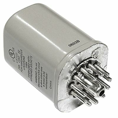 Magnecraft Hermetically Sealed Plug In Relay, 11 Pins, Octal Base Type, 12A @