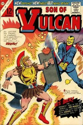 Son of Vulcan (Charlton) #49 1965 VG 4.0 Stock Image Low Grade