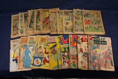 LOT of Bronze & Silver Era Comics-Marvel Archie DC – Poor Condition