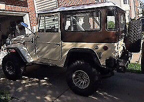 1969 Toyota Land Cruiser FJ40 1969 Toyota Landcruiser FJ40 with CHEVY V8, 5-Speed: Great Daily Driver