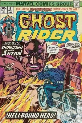 Ghost Rider (1st Series) #9 1974 VG- 3.5 Stock Image Low Grade