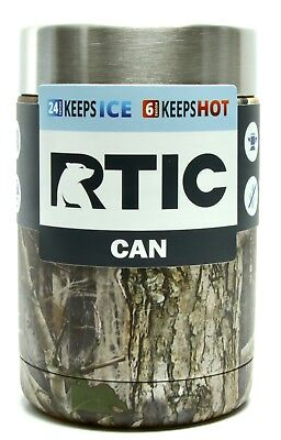 RTIC Stainless Steel Can Cooler 12 oz Vacuum Insulated Koozie-Kanati Camo