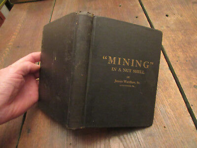 "1920 ""mining"" In A Nutshell Coal Mine Testing Scottdale Pa Safety Lamp Gas Gob"