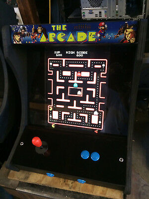 Awesome Multicade Countertop Arcade Machine! Plays 60 Classic Games! Free Ship!!