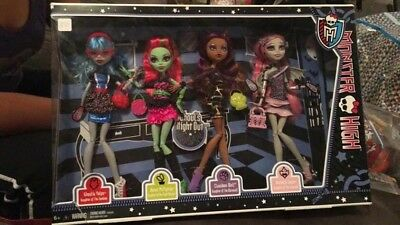 Monster High Ghouls Night Out 4 Pack (NEW)