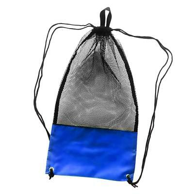 Large Mesh Drawstring Gear Bag for Scuba Diving Swimming Boating Beach Sport