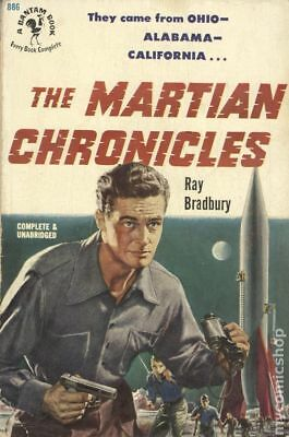 The Martian Chronicles by Ray Bradbury Acceptable 1951 Vintage Paperback
