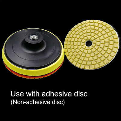 "100mm 4"" Wet Diamond Grinding Disc Polishing Pad For Granite Marble Stone"