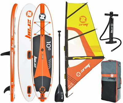 ZRAY W2 Pro Premium Windsurf 10.6 SUP Board Stand Up Paddle Surf-Board