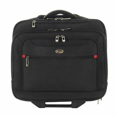 JAM Manhattan Executive Business Trolley Case With Laptop Storage Wheels Handle