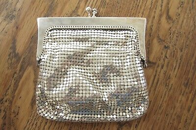 Lovely Vintage Oroton Mesh Purse Silver Colour
