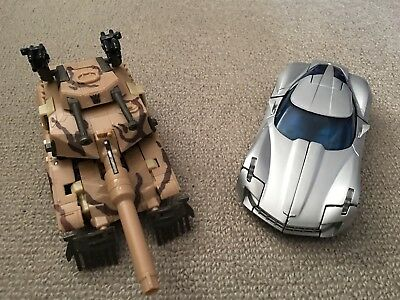 Transformers ROTF Deluxe Class Sideswipe And Deep Desert Brawl