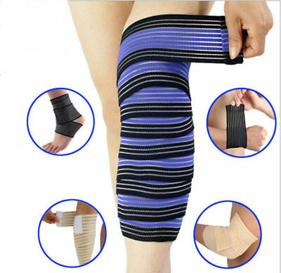 Elastic  Wrist Knee ABUC Ankle Elbow Calf Arm Support Wrap Knee Band Brace