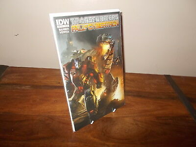 Transformers Fall of Cybertron - One Shot - Retailer Incentive Cover