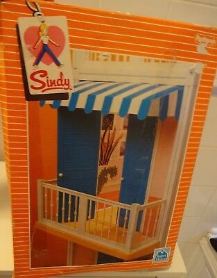 Vintage Pedigree Sindy 1983 Boxed Complete Balcony Pack Template & Instructions