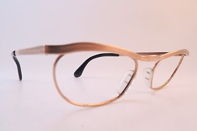 Vintage 50s eyeglasses frames gold filled MARWITZ OPTIMA size 48-18 Germany