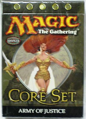 Magic The Gathering MTG 9TH EDITION Theme Deck ARMY OF JUSTICE - New & Sealed